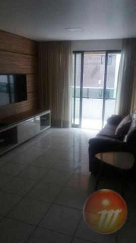 Lindo apartamento nascente com 96,20 m2, na Ponta Verde