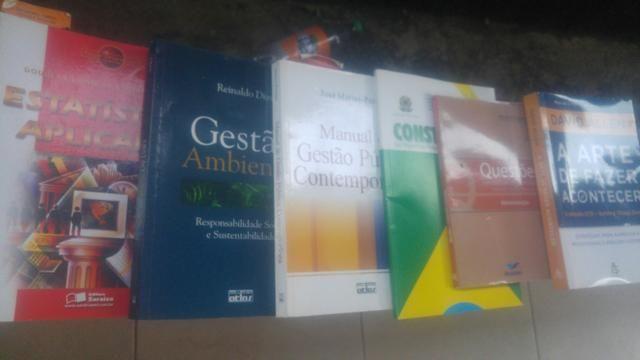 Troca ou venda livros curso administração