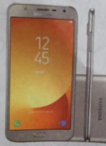 Celular Samsung J-7NEO semi novo c/ 3 meses de uso .completo