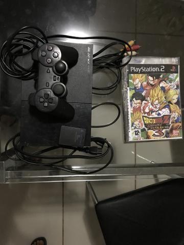 Vendo PlayStation 2 Slim e 15 jogos