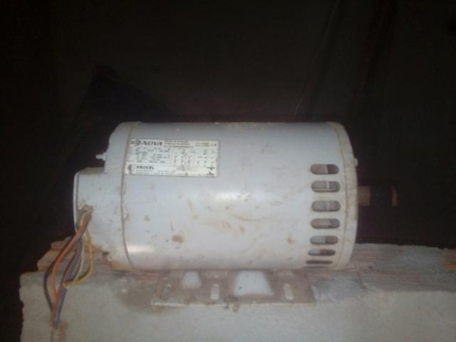 Motor elétrico 3cv bifasico e trifasico nunca foi usado
