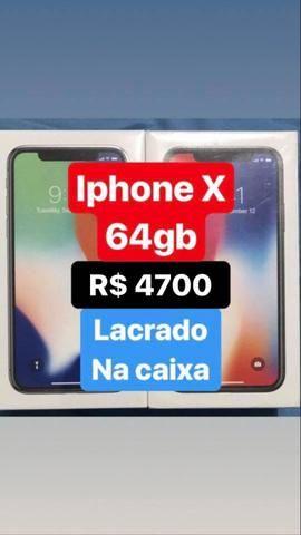 IPhone X novo lacrado na caixa