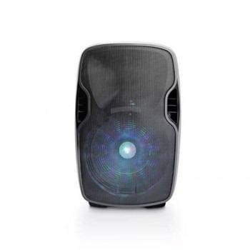 Caixa De Som Portátil Ativa 500W Bluetooth Sp263 C / Microfone