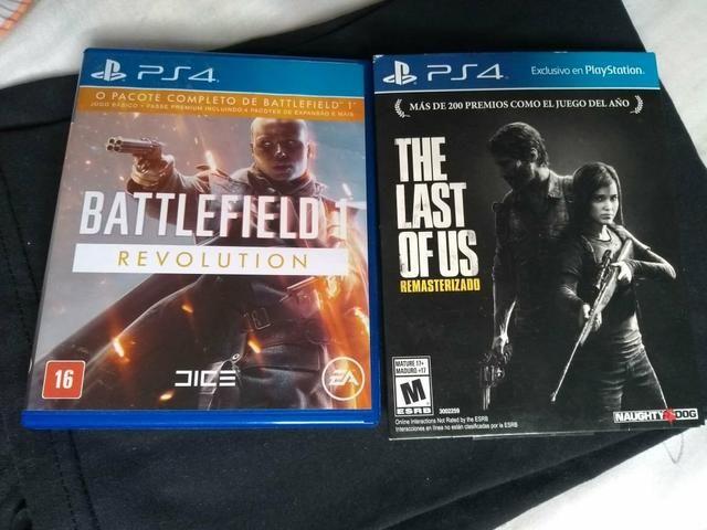 BF1 e The Last Of Us