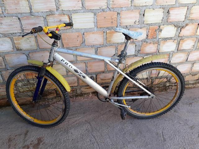 Bicicleta com cambio
