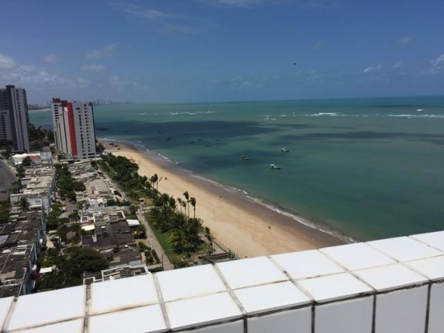Apto 1qto, 212mil, frente ao mar, linda vista, frente praia - Foto 4