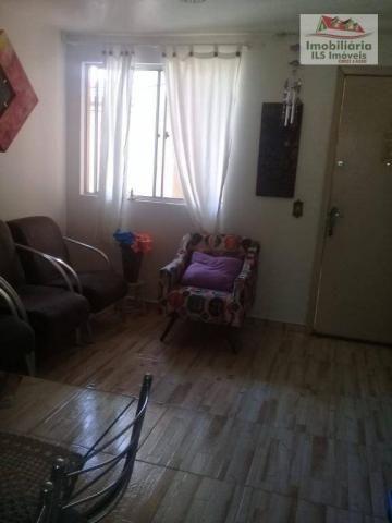 Apartamento com 2 dormitórios à venda por r$ 139.000 - sítio cercado - curitiba/pr - Foto 15