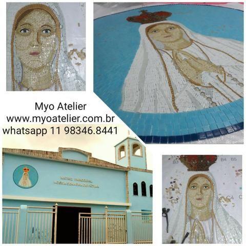 Nossa Senhora de Fatima mosaico