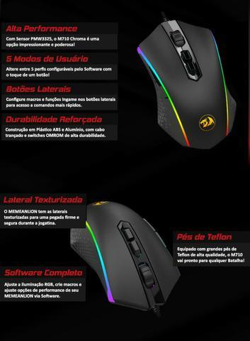 Mouse Gamer Redragon Memeanlion Chroma (m710), Lançamento