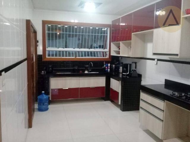 Atlântica imóveis tem excelente casa para venda no bairro Extensão Serramar em Rio das Ost - Foto 12