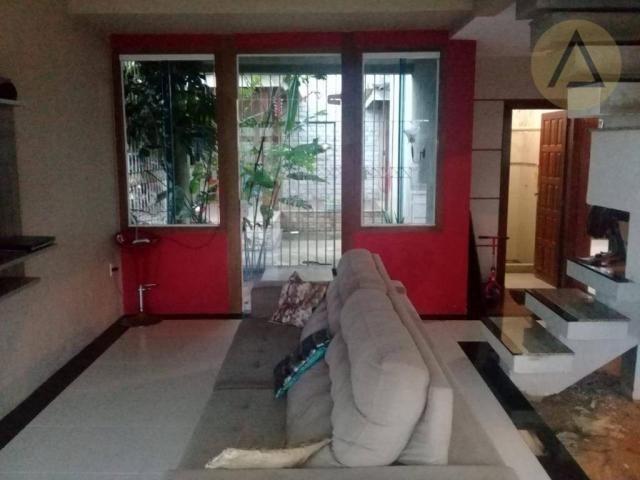 Atlântica imóveis tem excelente casa para venda no bairro Extensão Serramar em Rio das Ost - Foto 3