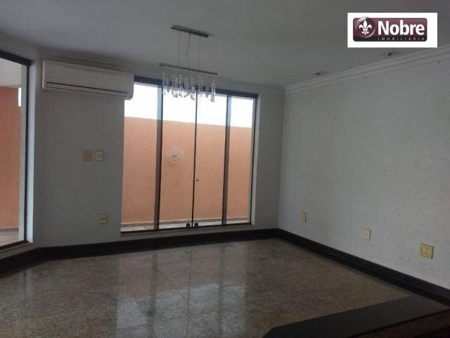 Sobrado com 4 dormitórios para alugar, 289 m² por r$ 3.520/mês - plano diretor sul - palma - Foto 3