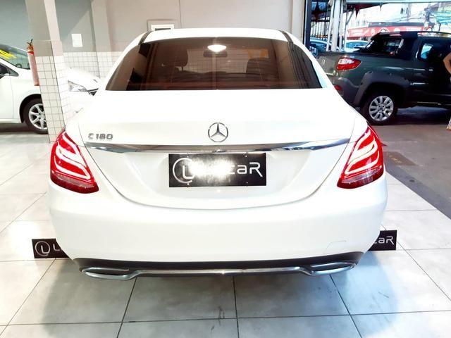 Mercedes benz c180 2017 comp+ couro+autom motor 1.6 2020 vistoriado - unico dono - Foto 5