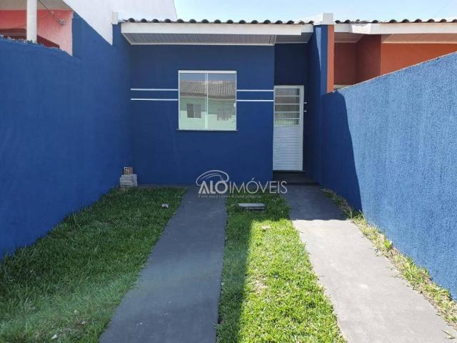 Casa com 2 dormitórios à venda, 41 m² por r$ 160.000 - campo de santana - curitiba/pr - Foto 10