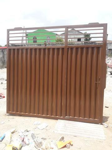 Portão galvanizado PROMOÇÃO - Foto 6