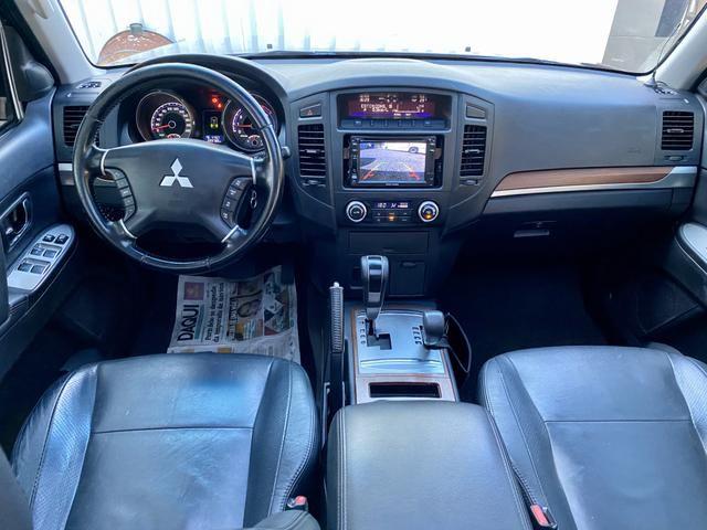 Pajero Full HPE 3.2 diesel ano 2011 4x4 Pneus BF Impecável - Foto 14