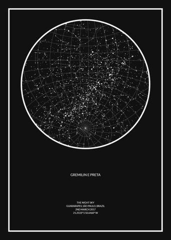 Mapa do céu - Foto 4