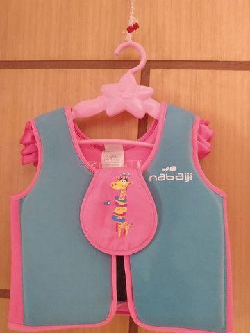 Colete Anti Afogamento Infantil Menina - Nabaiji