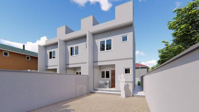 Casa Geminada com passagem lateral na Limeira, Brusque-SC - Foto 5
