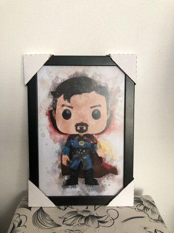 Quadros decorativos Heróis Marvel p/ quartos.  - Foto 3