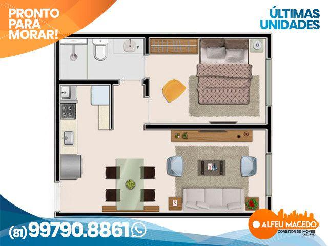 Apartamento de 1 quarto no Muro Alto Condomínio Clube em Porto de Galinhas - Foto 7