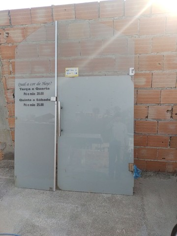 Porta de vidro completa - Foto 2