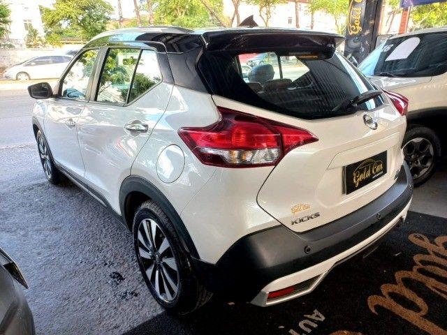 Nissan Kicks 1.6 SL  Automático CVT 2018 com interior marrom Extra! - Foto 6