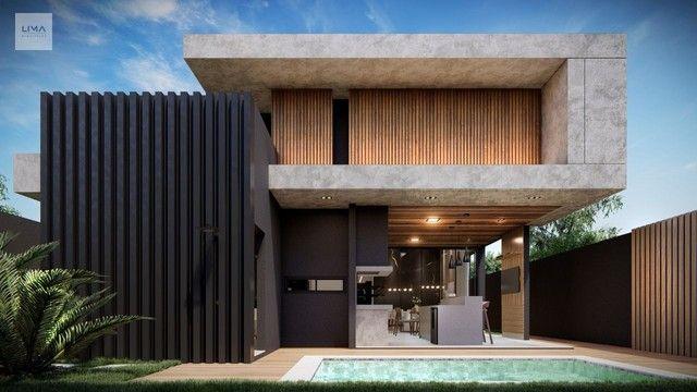 Casa com 3 dormitórios à venda, 200 m² por R$ 1.600.000,00 - Alphaville 3 - Campo Grande/M - Foto 11