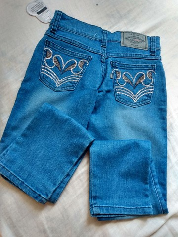 Calça jeans infantil. - Foto 5