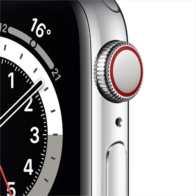 Apple Watch Series 6 (GPS + Cellular) 40mm caixa aço inoxidável e pulseira estilo milanês - Foto 2