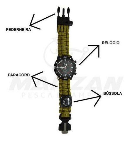 Relógio de sobrevivência com bússola  - Foto 3