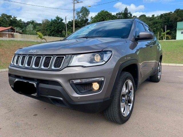 Jeep Compass 2020 4X4 Diesel aceiro troca por Civic Turbo de menor valor! - Foto 2