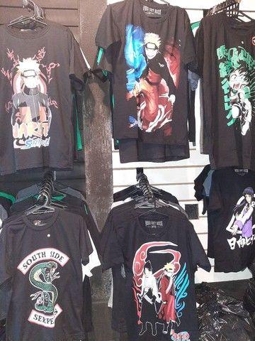 Camisas de anime, kpop e séries  - Foto 2