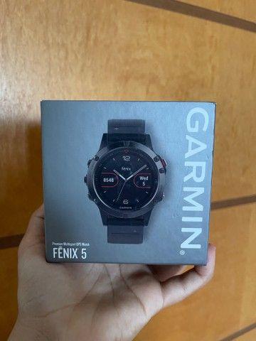 Relógio Garmin Fenix 5 Novo