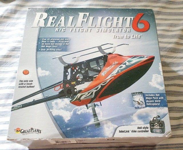 Simulador de aeromodelo RealFlight RF6 original - Foto 3