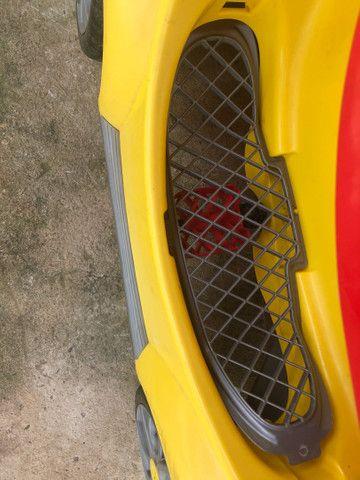 Carrinho De Passeio Ou Pedal 1300 Fouks - Calesita Amarelo *48 - Foto 2