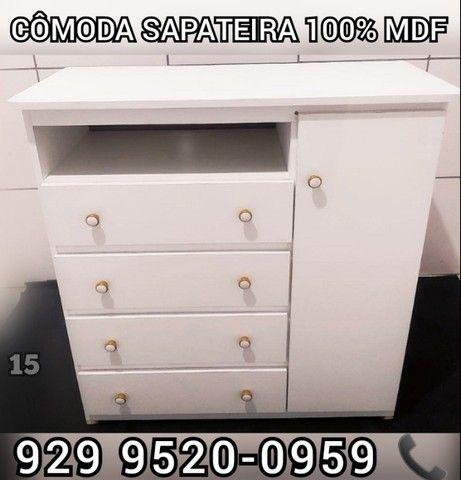 comoda 100% mdf a partir 189,99  sapateira >>>> - Foto 4