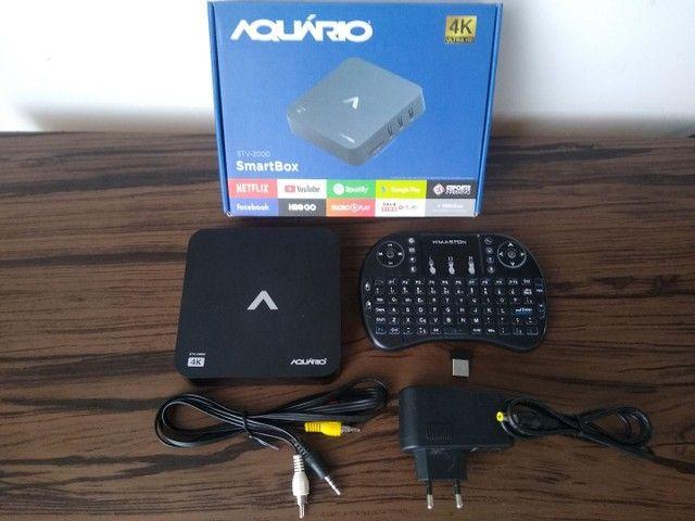 SmartBox Aquário, Transforme sua tv em SmartV - Foto 4