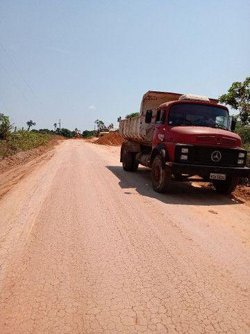 Caminhão caçamba 1313 Mercedes bens ano 80/81 - Foto 3