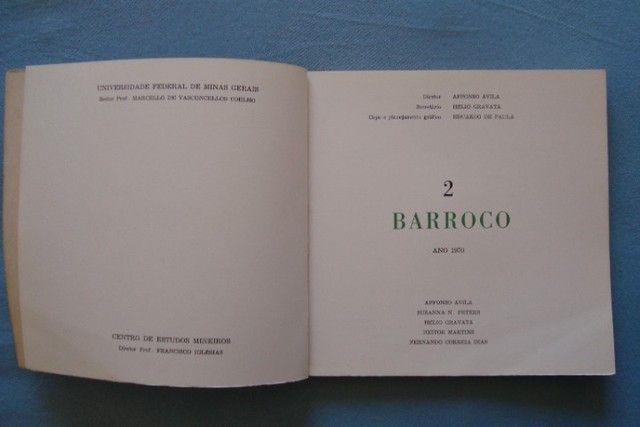 Livro Revista Barroco N° 2 - 1970 - Foto 2