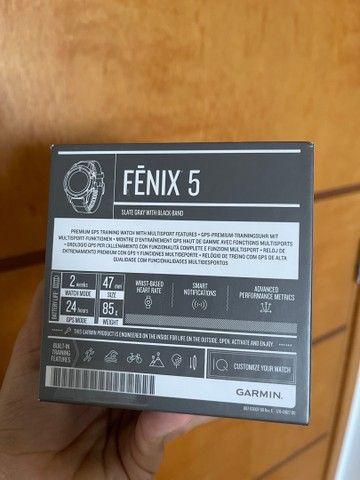 Relógio Garmin Fenix 5 Novo - Foto 2