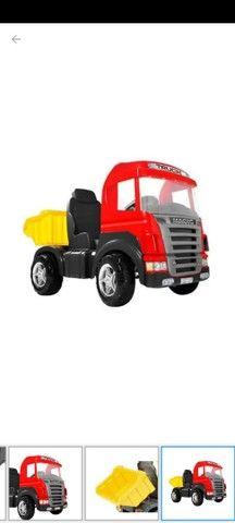 Caminhão de passeio Truck a pedal VERMELHO