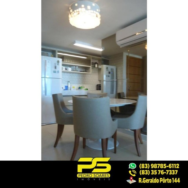 (LUXO) Cobertura com 2 qts sendo 1 suíte à venda, 130 m² por R$ 1.000.000 - Beira mar Cabo - Foto 6