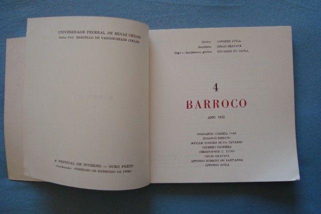 Livro Revista Barroco N° 4 - 1972 - Foto 2