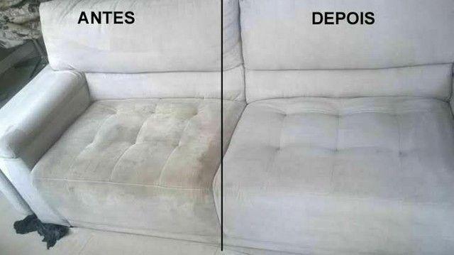 Lavagem a seco de sofá e colchão - Foto 5