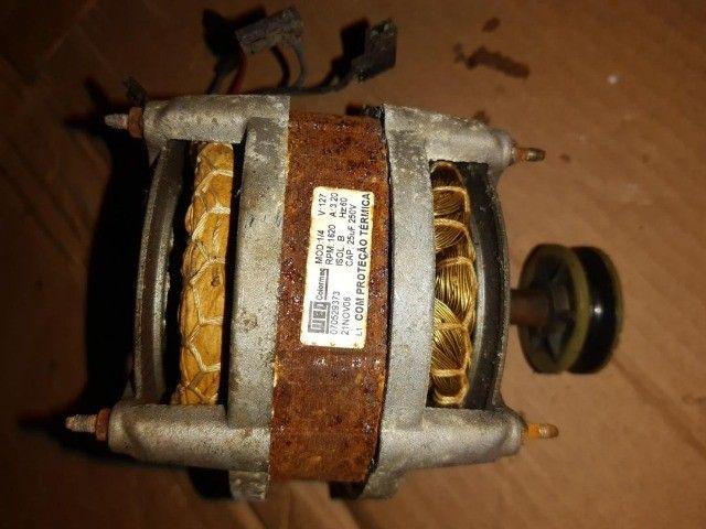 Motor 1/4 Marca  Weg  Original 1620 Rpm / 60Hz  / 110v Funcionando - Foto 2