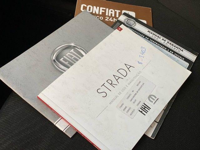 Fiat Strada Working Hard 1.4 flex - 2019 - Completa  - Foto 12