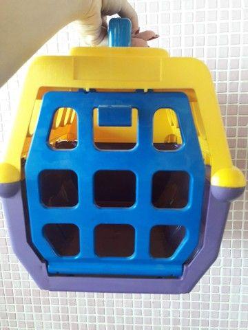 Transporte de animais de brinquedo
