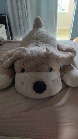 Urso de pelúcia cachorro tamanho Grande - Foto 3