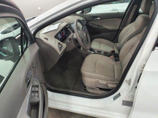 gm/cruze sedan ltz 1.4 turbo,ano 2018,u.dono,top de linha,branco,impecavel, sem detalhes - Foto 15